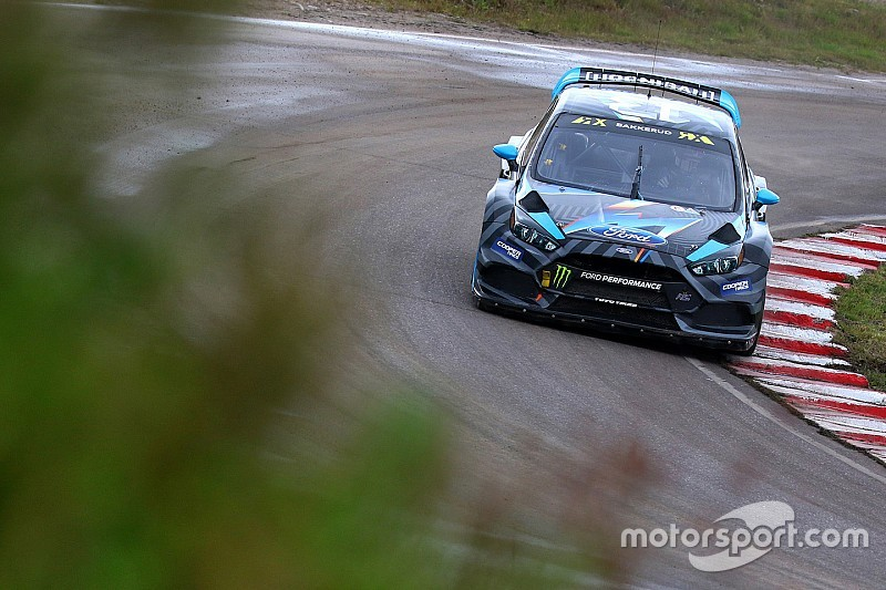 Sweden WRX: Bakkerud leads Loeb for second win of 2016
