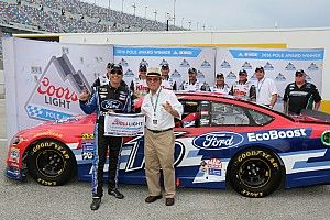 Greg Biffle takes surprise pole at Daytona