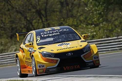 Hungary WTCC: Tarquini breaks lap record on resurfaced track in FP1
