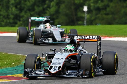 Hulkenberg says red flag cost him chance of Spa podium