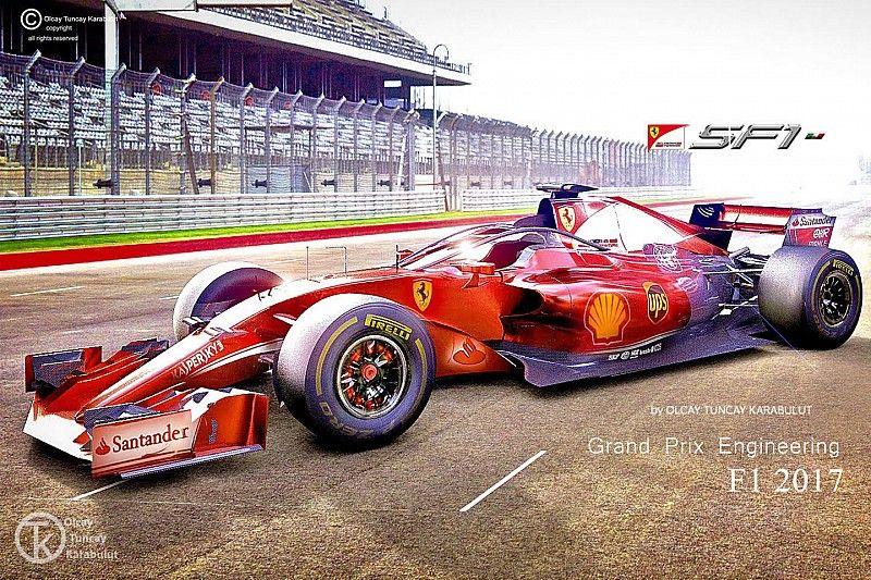 Ferrari 'Haloscreen' konsept tasarım