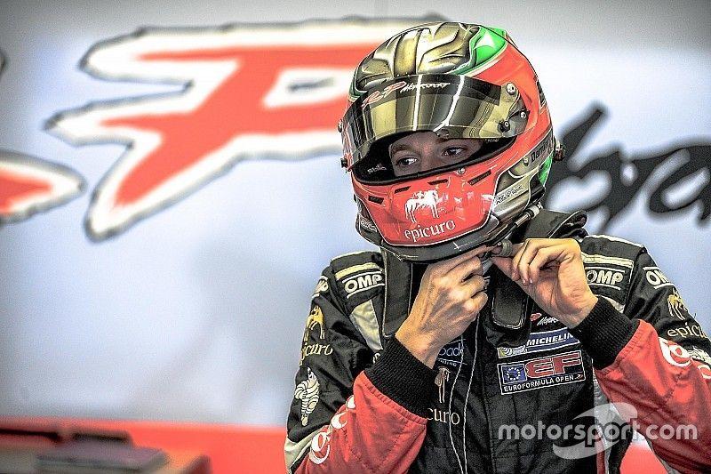 Фьорованти стал быстрейшим в первый день тестов Формулы 3.5 V8