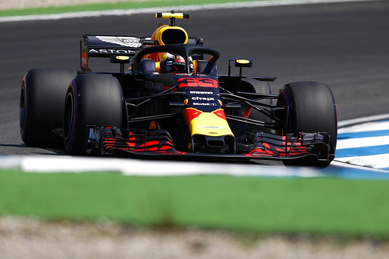 Verstappen-Hamilton-Bottas sorrend a Német Nagydíj második edzésén