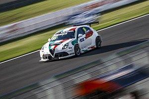 Europe: Fabrizio Giovanardi presente a Monza con l'Alfa Romeo del Team Mulsanne