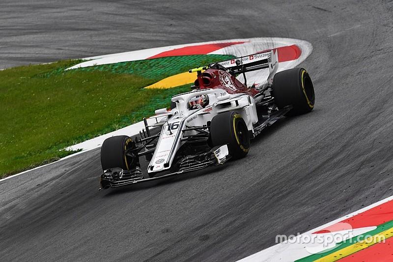Leclerc pénalisé sur la grille en Autriche