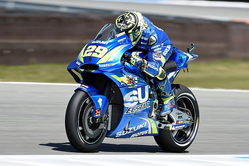 Iannone zet Suzuki bovenaan in FP3, Dovizioso veroordeeld tot Q1