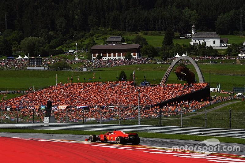 La F1 no para: los horarios del GP de Austria 2019 de F1