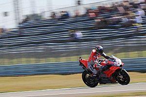 """Dovizioso: """"El nuevo chasis hace la moto más estable en recta"""""""