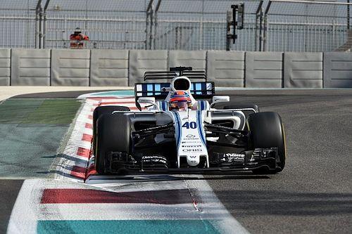 Photos - Le premier jour de Kubica chez Williams à Abu Dhabi
