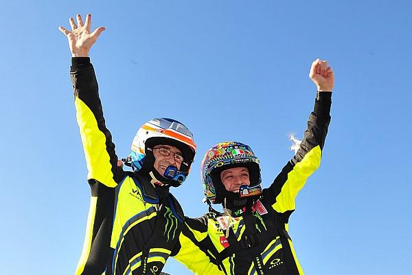 In beeld: Valentino Rossi wint de Monza Rally Show