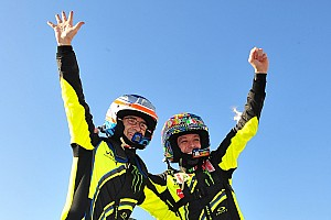 Rallye Fotostrecke Bildergalerie: Valentino Rossi bei der Monza-Rallye-Show
