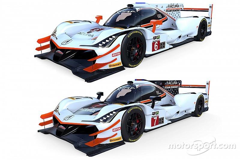Penske tampilkan warna tim untuk Acura ARX-05