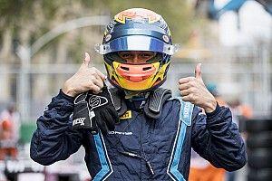 Albon se lleva la pole en la Fórmula 2