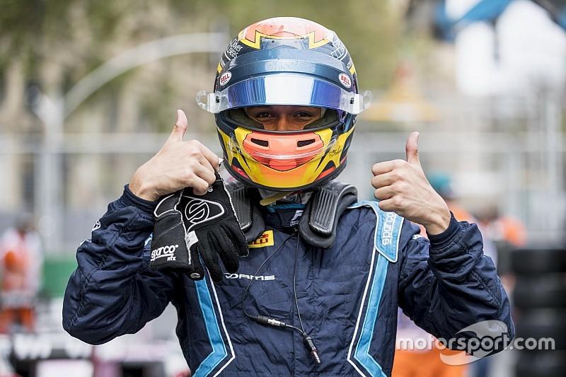 F2バクー予選:アルボンが初ポール獲得。牧野12番手、福住は16番手