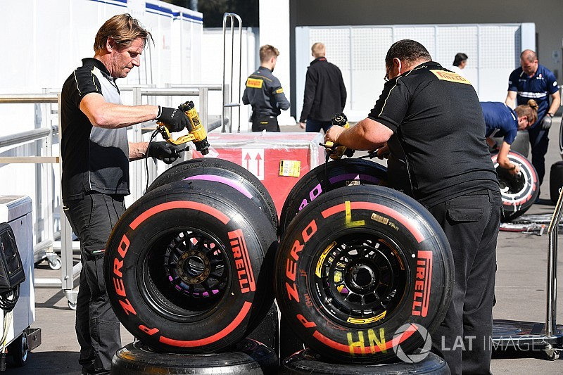 F1 could have up to eight tyre compounds in 2018 - Pirelli