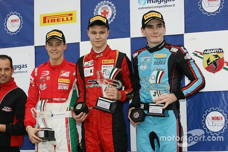 Veelbelovend Russisch talent via Van Amersfoort in Europese F3