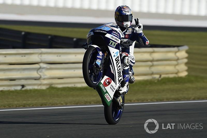 Recordtijd Martin in derde training GP Valencia, P5 Bendsneyder
