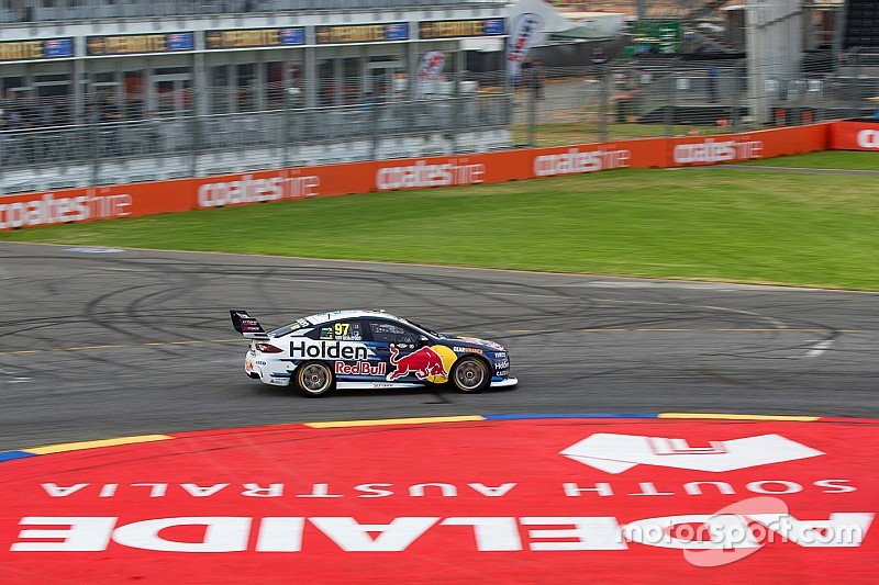 Adelaide 500: Van Gisbergen edges provisional pole, Whincup in the wall