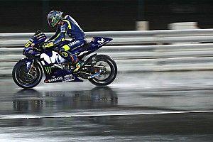 MotoGP-Test auf nasser Strecke: Bald Regenrennen in Katar?