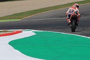 """Márquez: """"La pole de Rossi es increíble"""""""