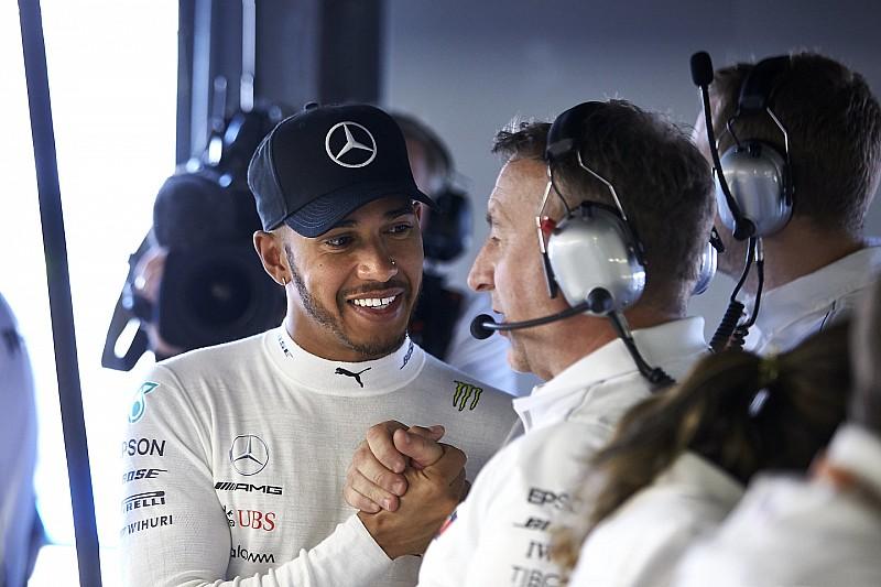 """Hamilton: """"A gyengeség jele lenne, ha kételkednék a bajnoki címben"""""""