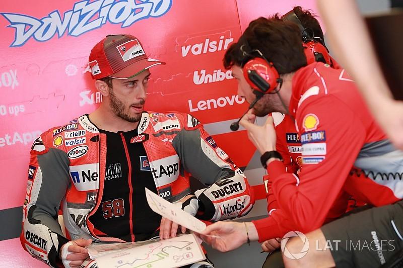 Dovizioso: Kelemahan Ducati masih terlalu besar