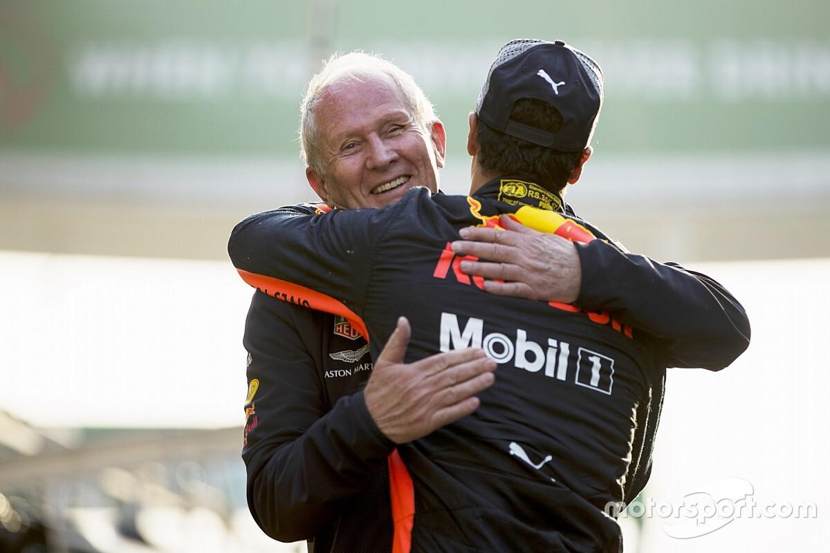 Red Bull sluit terugkeer Ricciardo naar Milton Keynes uit