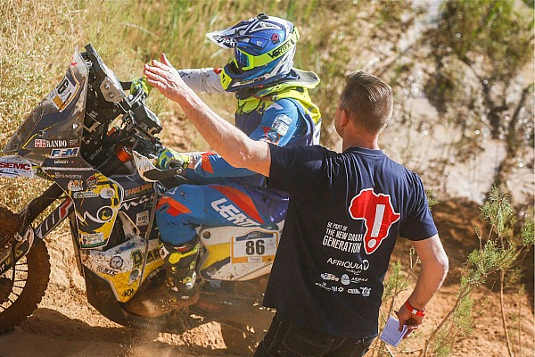 """Cross-Country Rally Stage report Merzouga Rally: Leading duo collide in """"crazy"""" stage finish"""