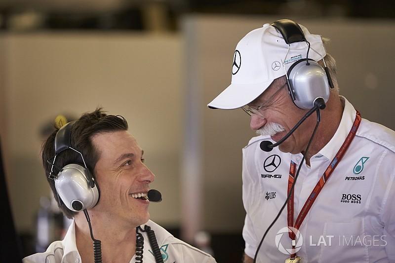 沃尔夫憧憬梅赛德斯打破F1终极纪录