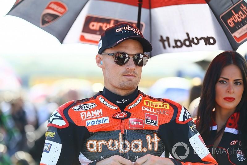Test Jerez SBK: Davies sta bene. Solo una forte contusione al ginocchio