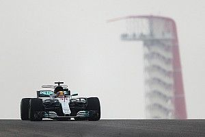 FP1 GP Amerika: Hamilton tercepat di kondisi cuaca berubah, Gelael P17