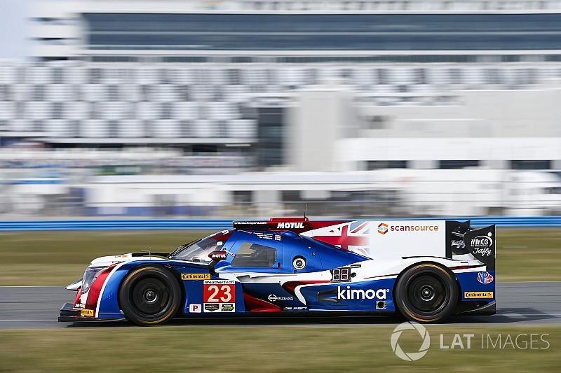 24h Daytona 2018: Unfall für Alonsos Fahrzeug beim Trainingsauftakt