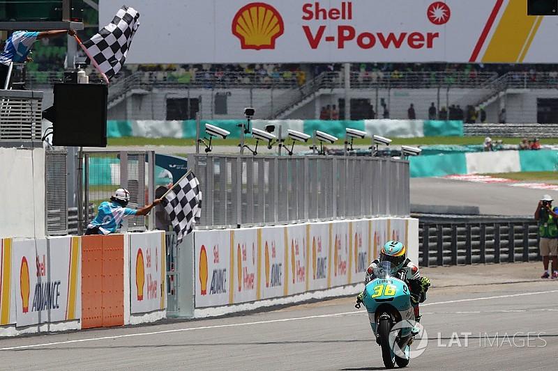Moto3 Malaysia: Mir cetak kemenangan ke-10