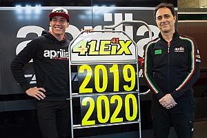 MotoGP Actualités Officiel - Aleix Espargaró reste 2 ans de plus chez Aprilia