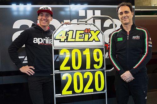 Officiel - Aleix Espargaró reste 2 ans de plus chez Aprilia