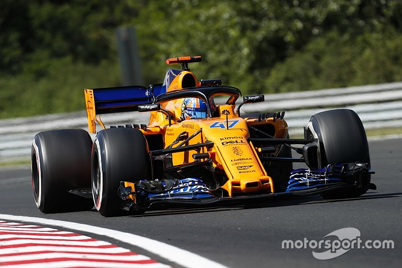 Norris says year away from McLaren is an option