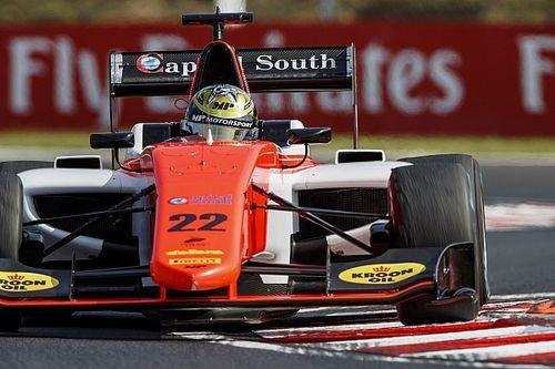 Бокколлаччи выиграл воскресный спринт GP3 на «Хунгароринге»