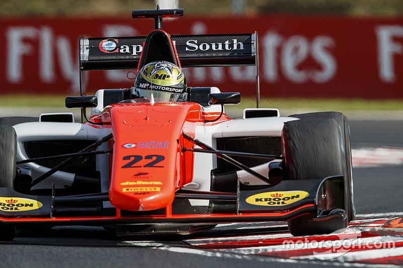 GP3 Hungaroring: Boccolacci verslaat ART-duo in sprintrace