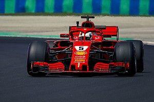 Vettel volt a leggyorsabb délután a Hungaroringen a Red Bullok előtt