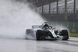 Hamilton voa na chuva e conquista pole na Hungria