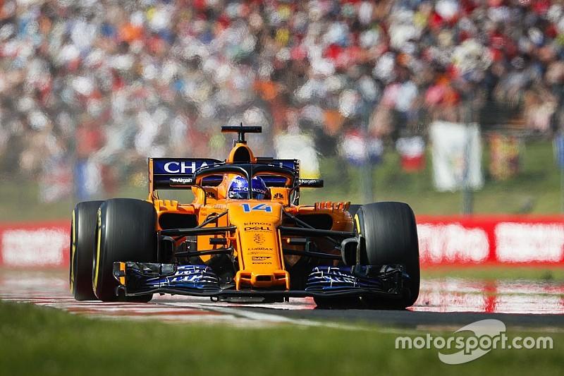 Alonso: ez egy nagyon boldog vasárnap a McLarennek