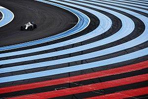 La lluvia complicó la actividad en la práctica 3 de Paul Ricard