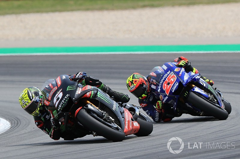 "Vinales: Using Zarco's style ""upsets"" 2018 Yamaha"