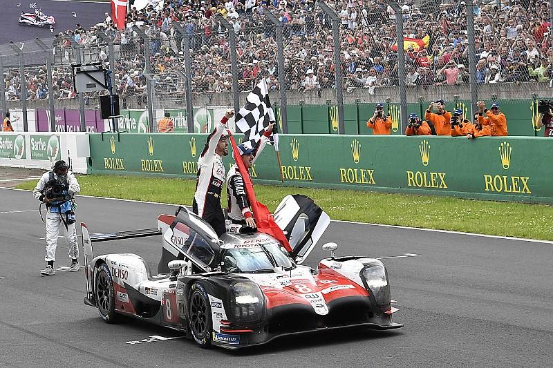 Képekben Alonso nagy győzelme Le Mans-ból