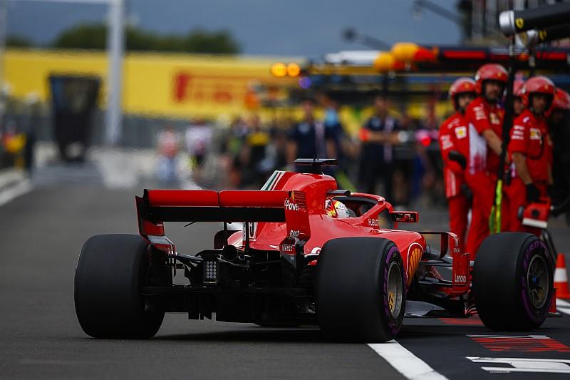 Fransa'da günün pilotu Vettel oldu!