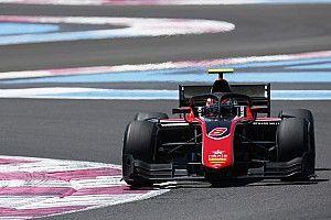F2 Paul Ricard: Russell dominasi feature race, Gelael gagal finis