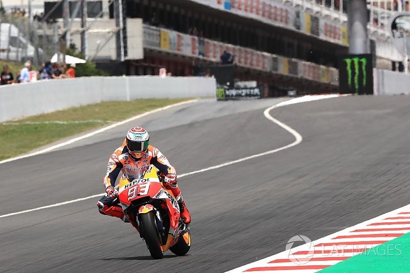 Marquez, Barcelona antrenmanlarında kendisini rahat hissetmemiş