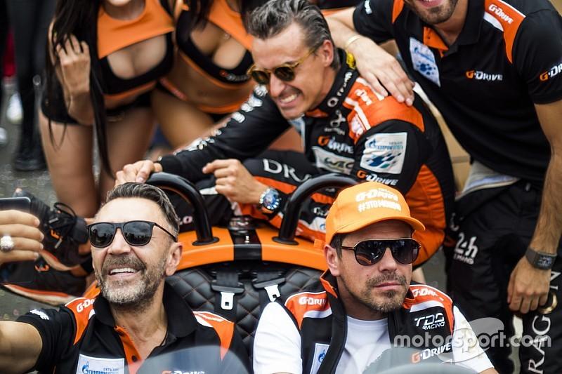 Сергей Шнуров в гостях у G-Drive Racing: фото из Ле-Мана