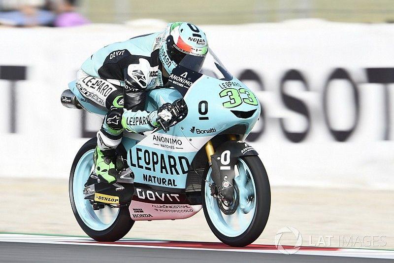 Barcelona Moto3: Bastianini wins as Martin crashes from lead