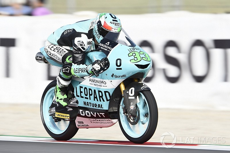 Barcelona Moto3: Bastianini wins as Martin crashes from lead